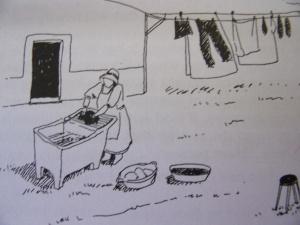 tanque - vaskeplass av litt enklere modell