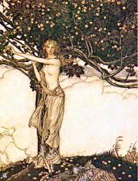 gudinnen Jord, en av Odins fruer, forstandig dame.