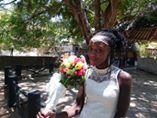 og vakker var bruden.......