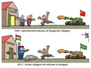 flyktninger ungarn